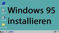 Windows 95 installieren mit Emulator und ISO – so geht's in Virtualbox