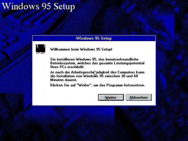 Windows 95 installieren mit emulator und iso so geht s for Windows 95 iso