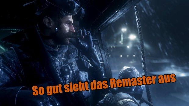 Call of Duty Modern Warfare: 7 Minuten Gameplay aus dem HD-Remaster