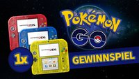 Komm und schnapp ihn dir: Wir verlosen einen Nintendo 2DS in eurer Team-Farbe inklusive Pokémon!