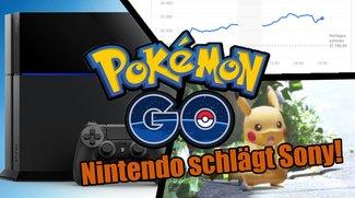 Nintendo: Dank Pokémon GO jetzt mehr wert als Sony