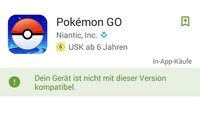 Pokémon GO nicht kompatibel? So läuft's auf Galaxy S5 Mini, S3, Amazon Fire & Windows 10 Mobile
