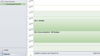 Wann ist Was - iCal Spielplan für Outlook, iPhone & Co.