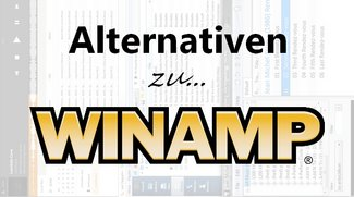 Winamp: Top-3-Alternativen für Windows