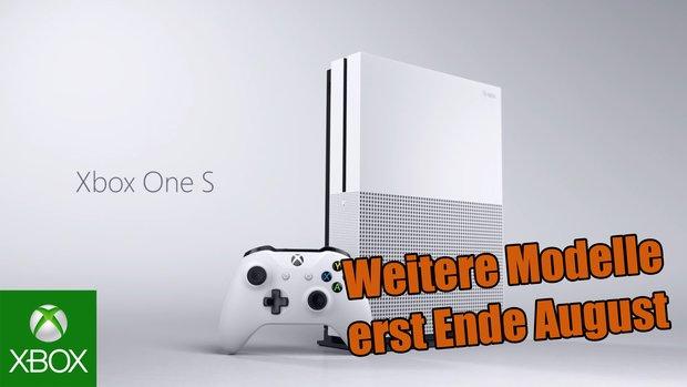 Xbox One S: Microsoft gibt US-Termin und Bundles für die günstigeren Modelle bekannt