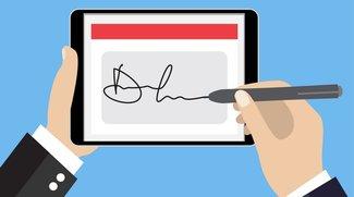 Digitale Unterschrift: So erstellt ihr eine elektronische Signatur