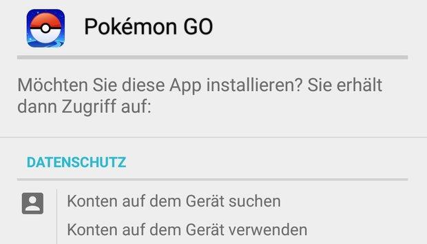 Pokémon GO: Berechtigungen der App und Datenschutz