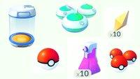 Pokémon GO: Alle Items erklärt - Beleber, Trank und Co.