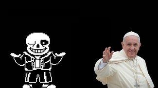 Undertale: YouTuber schenkt dem Papst das Indie-RPG
