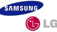 Smartphone-Geschäft: Samsung oben, LG am Boden