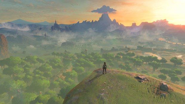 The Legend of Zelda - Breath of the Wild: Größe der Spielwelt und Karte