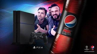 Maximaler Gaming-Fun mit Pepsi MAX: Gewinne eine von drei PS4 im GIGA-TECH-Gewinnspiel