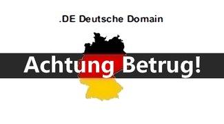 .DE Deutsche Domain: Eine Rechnung, die keine Rechnung ist