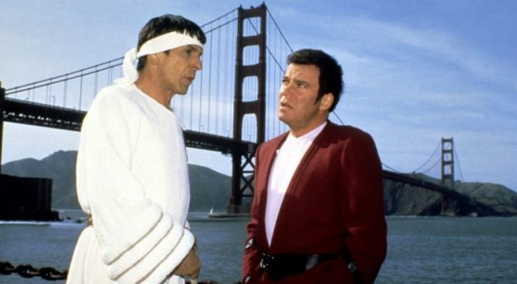 Star Trek IV KIrk Spock
