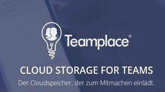 Teamplace: Unbegrenzt Cloudspeicher kostenlos für Teams