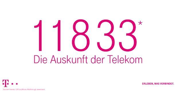 telekom auskunft nummer und kosten f r festnetz handy ausland und deutschland giga. Black Bedroom Furniture Sets. Home Design Ideas