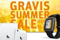 Gravis Summer Sale vom 1. bis zum 31. August:<b> Rabatte auf iPhones, iPads, Macs und Zubehör </b></b>