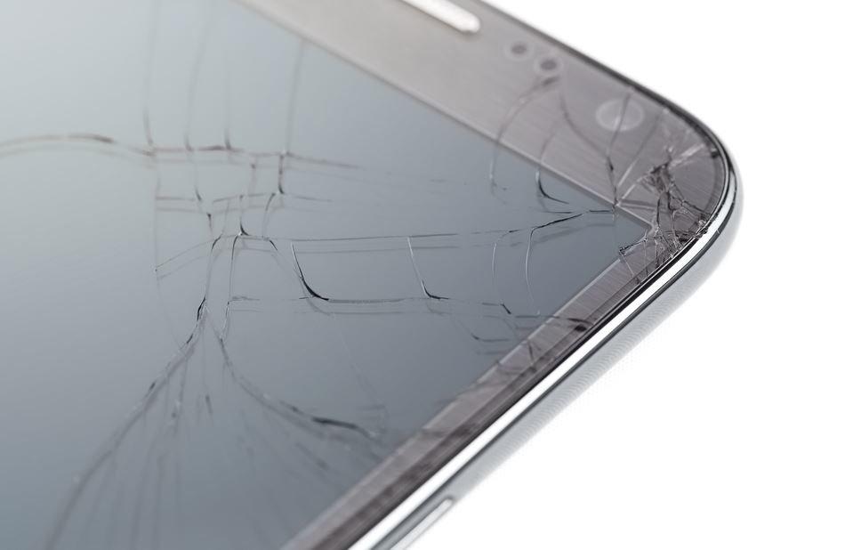 iPhone Display Risse