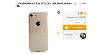 iPhone 7 und iPhone 7 Plus: Händler listet bereits Taschen und Hüllen