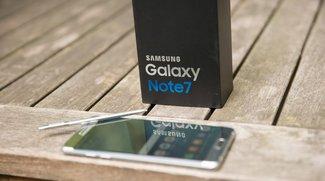 Samsung Galaxy Note 7: Neues Modell mit kleinerem Akku unterwegs