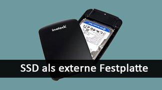 SSD als externe Festplatte nutzen – so geht's