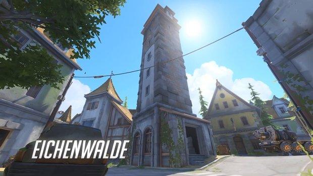 Overwatch: Easter Egg für Dark-Souls-Fans auf der neuen Map Eichenwalde