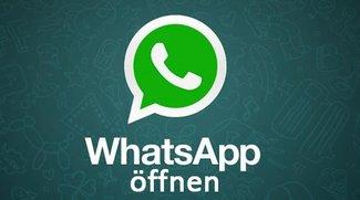 WhatsApp öffnen: auf Smartphone, Tablet, PC und Mac – so geht's