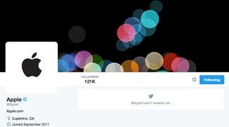 Twitter: Cupertino aktiviert @Apple nach fünf Jahren (Update)