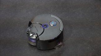 Dyson 360 Eye: Saugroboter mit 360-Grad-Kamera und Raupenantrieb im Hands-On-Video