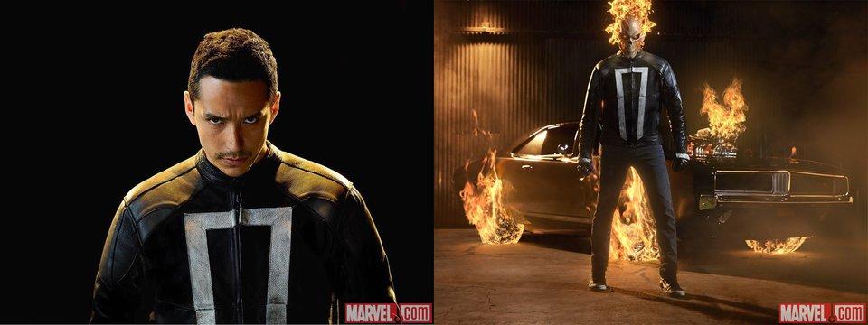 """Gabriel Luna wird den Ghost Rider in der 4. Staffel von """"Marvel's Agents of S.H.I.E.L.D."""" spielen."""