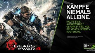 Nvidia-Aktion: Gears of War 4 kostenlos beim Kauf der GTX 1070 und 1080