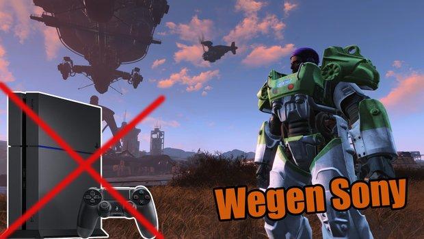 Playstation 4: Fans kreieren coole Mods für Skyrim und Fallout