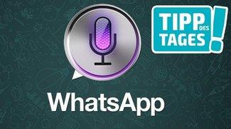 WhatsApp-Nachrichten mit Siri verschicken, so geht's