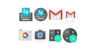 Android 7.1: Runde App-Icons und Neustart-Option kommen