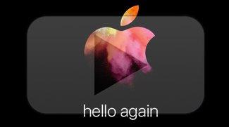 Apple Event im Oktober 2016: Jetzt Livestream anschauen – so geht's