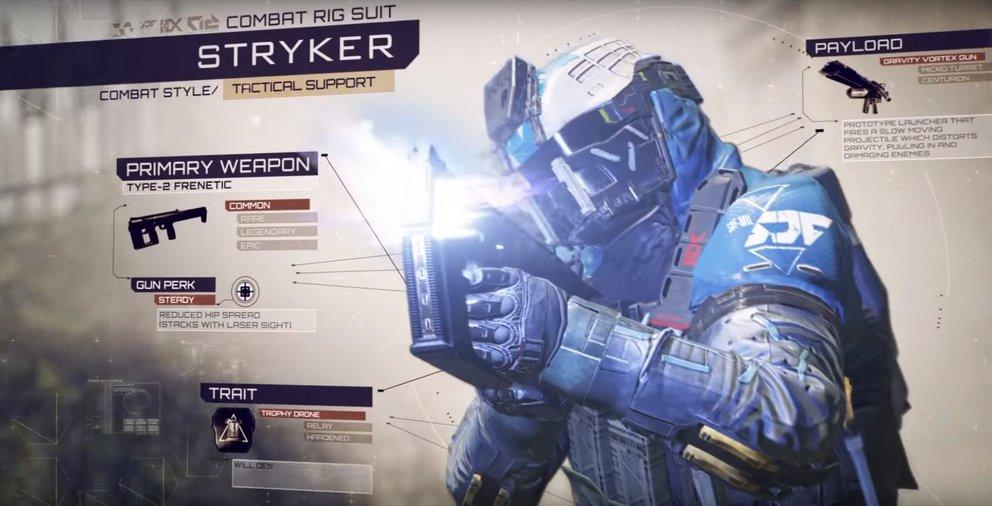 Stryker unterstützt euch mit nützlichen technischen Gadgets.