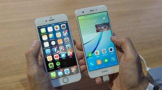 Huawei Nova vs. iPhone 6s: Smartphones im Video-Duell