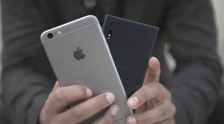 Sony Xperia XZ vs. iPhone 6s Plus: Video-Vergleich der Königsklasse