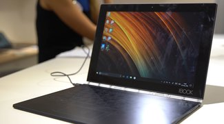 Lenovo Yoga Book: Innovatives Convertible im Hands-On-Video