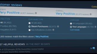 Valve: Steam ändert Review-Richtlinien um Missbrauch zu verhindern (Update)