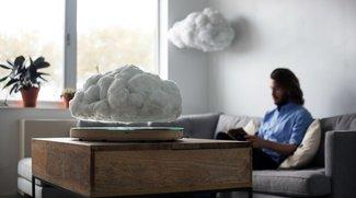 Diese Wolke ist ein schwebender Bluetooth-Lautsprecher