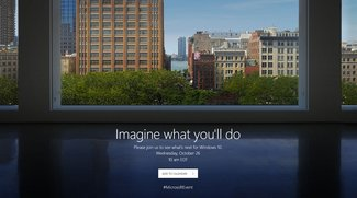 """Microsoft-Event: Livestream jetzt """"on air"""" – Surface und Windows 10 im Fokus"""