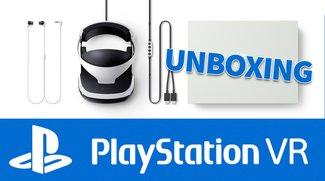 PlayStation VR ist da: Wir zeigen im Unboxing-Video, was im Karton steckt!