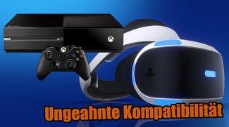PlayStation VR kann sogar an den Konkurrenzkonsolen verwendet werden