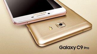 Galaxy C9 Pro: Das erste Samsung-Smartphone mit 6 GB RAM