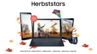 Samsung-Herbststars: Bis zu 150 Euro als Gutschein beim Tablet- oder Smartwatch-Kauf abgreifen [Update]