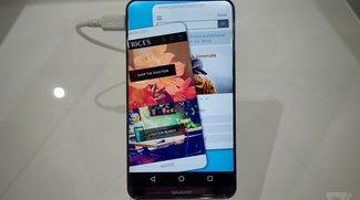 Sharp Corner R: Spektakulärer Smartphone-Prototyp mit randlosem Display