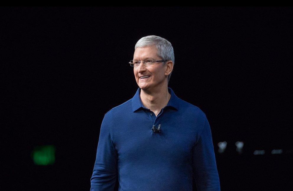 Apple-CEO Tim Cook war auf Clintons Liste potentieller Vizepräsidenten