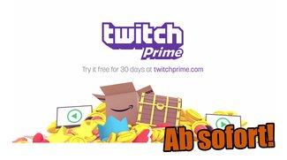 Twitch Prime: Neuer Dienst in Kooperation mit Amazon vorgestellt