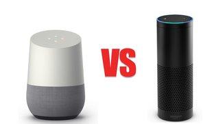 Google Home vs. Amazon Echo: Die smarten Lautsprecher im Vergleich